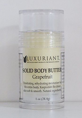 Luxuriant Solid Grapefruit Body Butter 1 oz.
