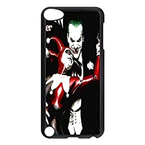 SUUER Batman Joker Personalized Custom Plastic Hard CASE Back Fits Cover Case for iPod Touch 5, 5G (5th Generation)