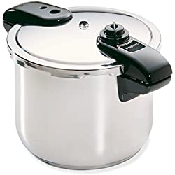 Presto 01370 8-Quart Stainless Steel Pressure Cooker
