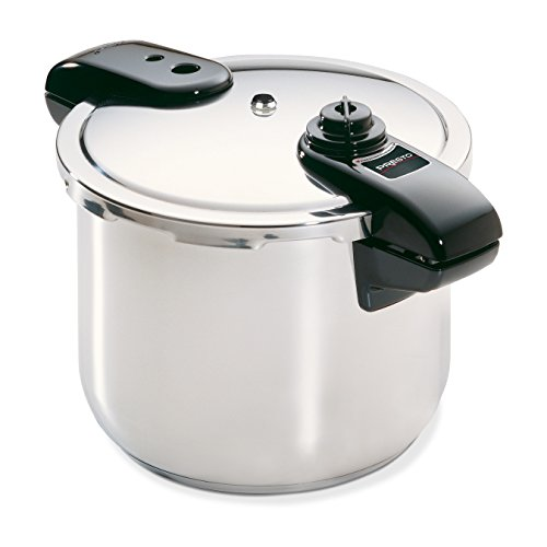 Presto 01370 8-Quart Stainless Steel Pressure Cooker by Presto