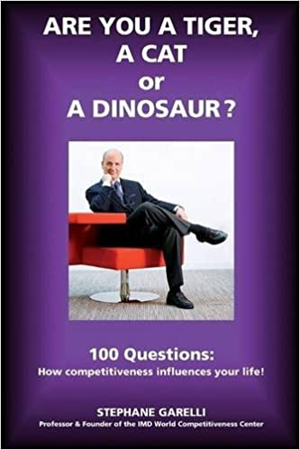 Are you a Tiger, a Cat or a Dinosaur?: 100 questions: How competitiveness influences your life!