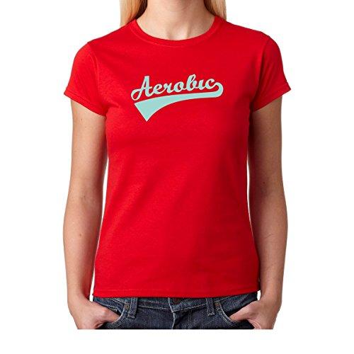 Amazon.com: AW Fashions Vintage Aerobics - College Premium Womens T-Shirt: Clothing