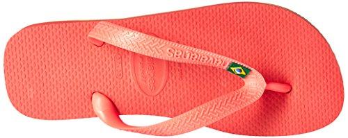 Havaianas Braziliaanse Sandaal Flip-flop Koraal Nieuw