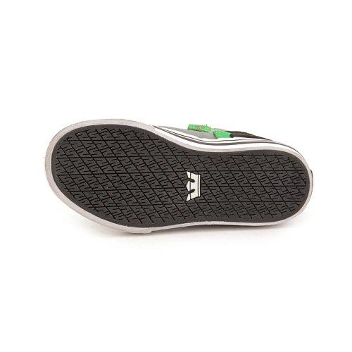 Supra SKYTOP - Zapatilla alta de cuero niño negro