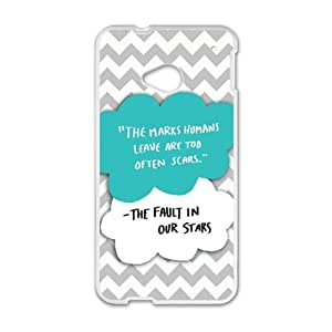 QQQO fault in our stars Phone Case for HTC One M7