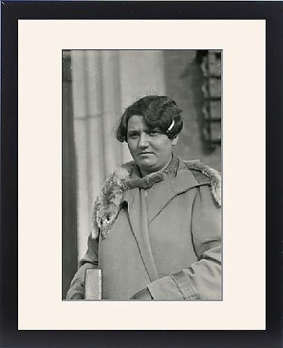 Framed Print of Danish medium Anna Rasmussen by Prints Prints Prints