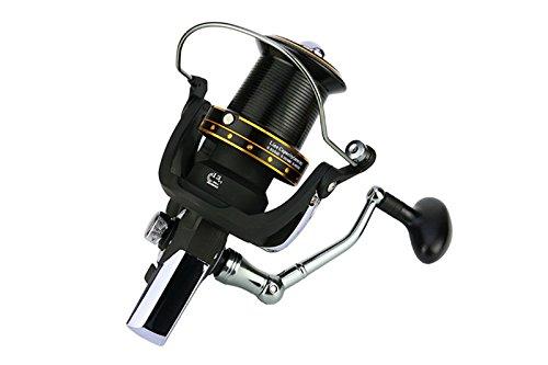 EEOZY Fishing Reels Spinning Freshwater Saltwater with all-metal wheel seat fishing wheel Handle Spinning Fishing Reel (8000) (Metal Seat Reel)