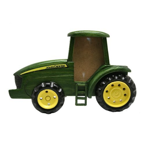 Large Frame Tractor - John Deere Tractor Picture Frame Green,One Size