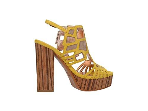 ALBANO - Sandalias de vestir para mujer Giallo/beige