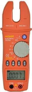 digital Matech auto/manual de pinza amperimétrica, MS2600