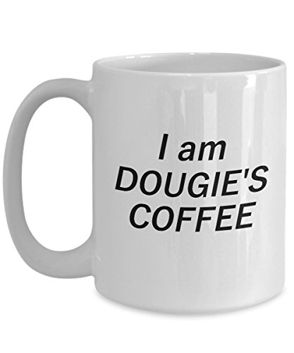 I Am Dougie's Coffee Mug For Peaks Freaks, Peakies and Peakers - Funny Novelty Gift Cup For Twin Fans Of Season 3 Episodes (15 oz) ()