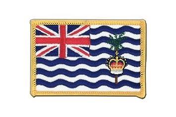MaxFlags/® /écusson brod/é drapeau Territoire britannique de loc/éan Indien 6x8cm
