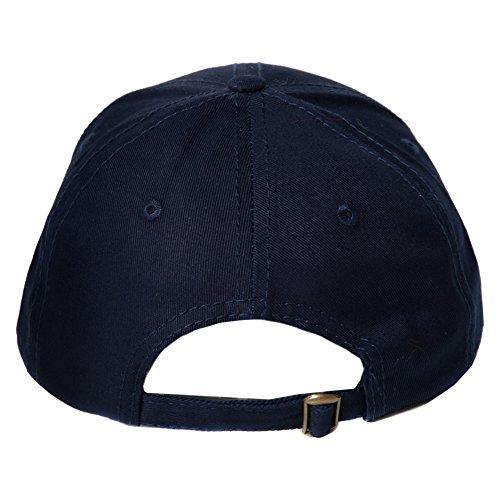 única Hombre béisbol Sombrero de Gorra Azul Talla Marino Básico Azul para Accessoryo PS1FgYw
