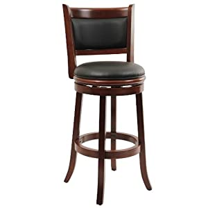 Amazon Com Boraam 49829 Augusta Bar Height Swivel Stool