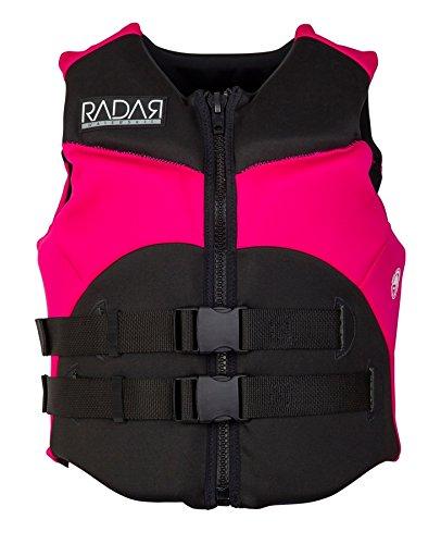 Radar Charm Womens Blk/Pink Vest (2017)-large-BLK/PNK (Small, BLK/PNK) by Radar