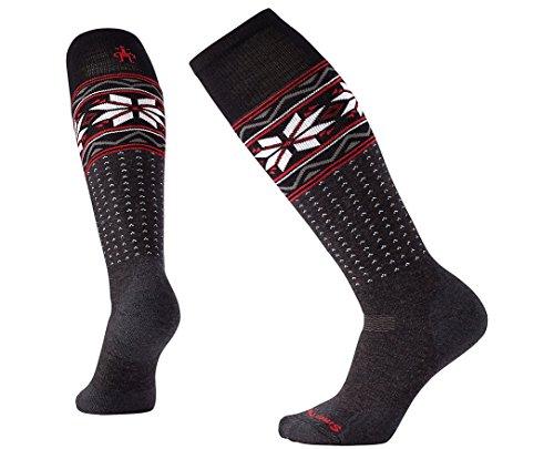 SmartWool Women's PhD Slopestyle Medium Wenke Socks (Charcoal) Medium (Ski Phd Womens Smartwool)
