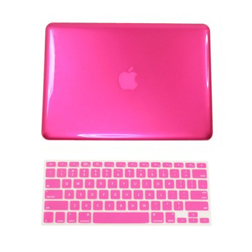 TOP CASE 2 in 1 Crystal Hard Case Cover Compatible with Apple MacBook Pro 13.3