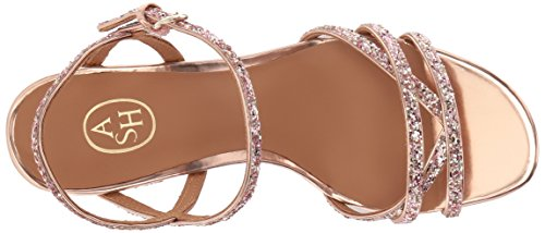 Ash Women's AS-Sparkle Heeled Sandal, Blush/Rose, 38 M EU (8 US)