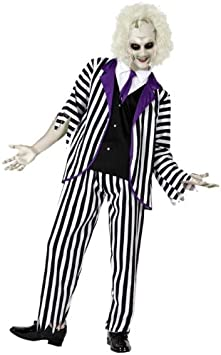 Atosa-14896 Disfraz Fantasma, color violeta, M-l (14896)