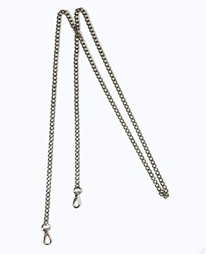 Phone Chain - Caseahead Silver-Tone Chain for Cell Phone Case and Purses with Clasp Closure