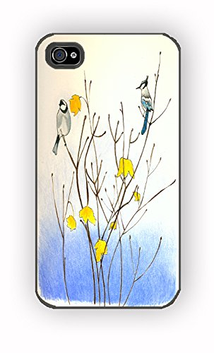 Birds in Trees for iPhone 4/4S Case