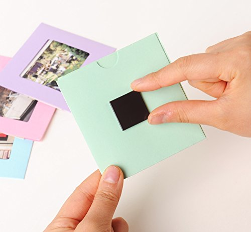 Magnetic Squares, 1 tape sheet of 72 magnetic squares(each 25x25x2mm), magnet on one side, self 3M adhesive on the other side Photo #4