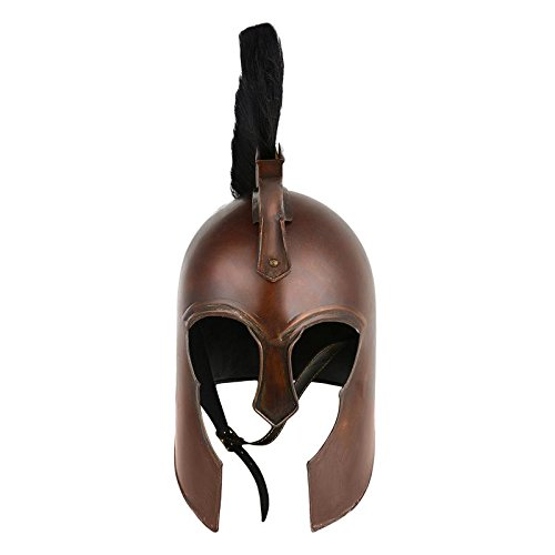 Costume Horse Maximus (Troy Copper Helmet)