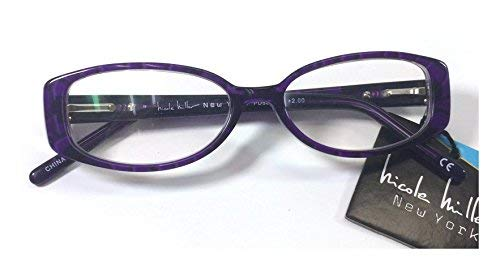 Nicole Miller New York LO0416 Willow PRP +1.75 Reading Glasses (Without Case) Each ()