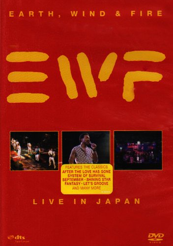 Price comparison product image Earth, Wind & Fire: Live in Japan
