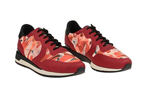 GeoxD64n1b 000l1c7004 - zapatos con cordones Mujer Rojo