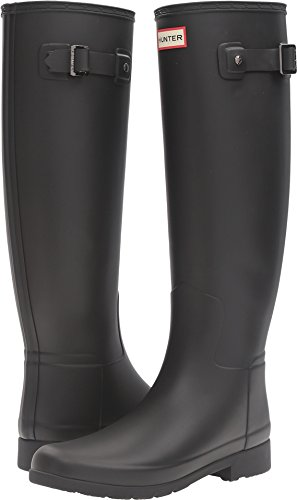 Hunter Women's Original Refined Tall Matte Black Boot
