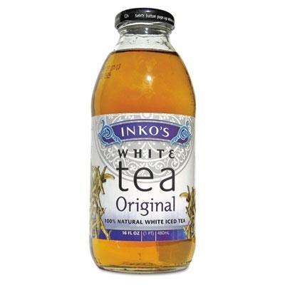 Inko's Ready-To-Drink Tea Original White Tea/12 Pack/16 oz Bottles