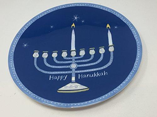 Pottery Barn Kids Happy Hanukkah Melamine Plate - Set of 4 (Pottery Barn Bird Plates)