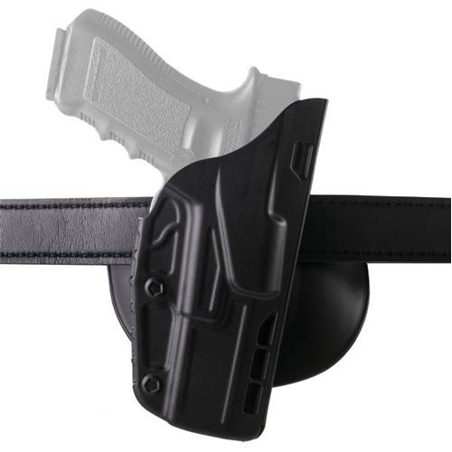 Safariland 7378 7TS ALS Concealment Paddle & Belt Slide Holster, Sig Sauer P320 Full Size 9mm.40.45 Cal, Right Hand, SafariSeven Plain Black by Safariland