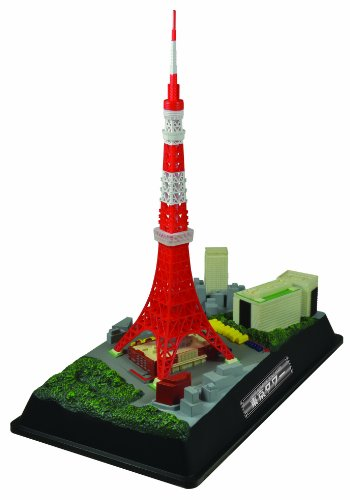 Tokyo Tower 1/2000 (Painted Plastic Model) by Doyusha ()