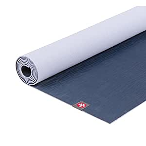 Manduka EKO Lite Yoga and Pilates Mat, Midnight, 4mm, 68""