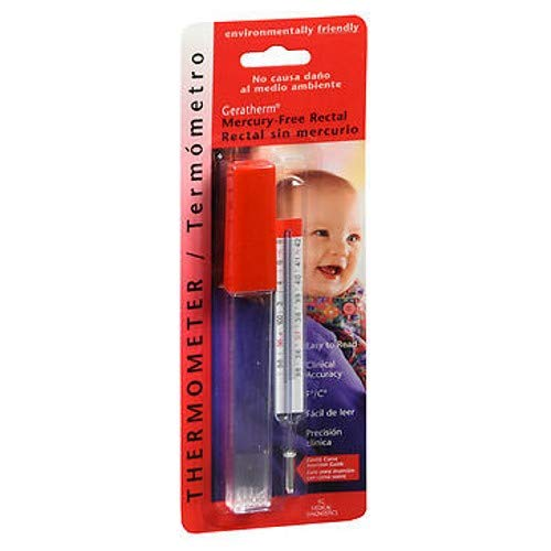 Geratherm Thermometer Rectal Mercury Free 1 Each (Pack of 5) by Geratherm