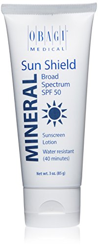 (Obagi Sun Shield Mineral Broad Spectrum SPF 50 Sunscreen, 3 oz)