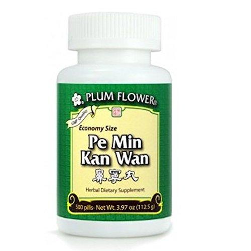 (Pe Min Kan Wan Economy Size, 500 ct, Plum Flower)
