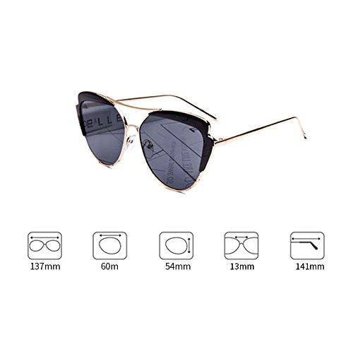 DT polarizadas Color Coreanas Sol Gafas Delgadas de Gafas 3 de Femeninas Gafas Sol 0Z0zPrx