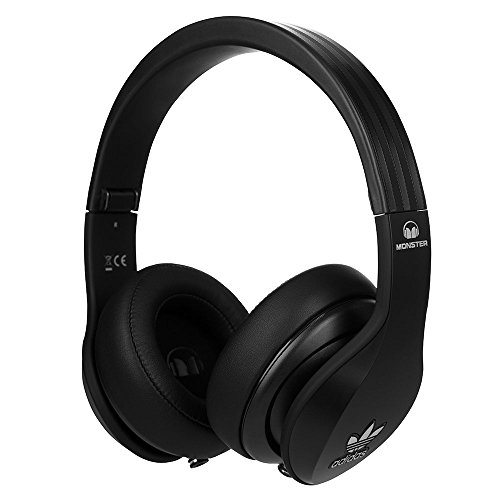 official photos ef48d c4592 Monster ADIDAS ORIGINALS BLACK COLOUR Over-Ear Headphones 128554