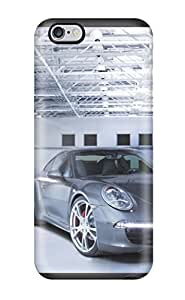 Cute Appearance Cover/tpu HxGAUlk1693gBxAf Techart Porsche 911 Front Angle Cars Porsche Case For Iphone 6 Plus