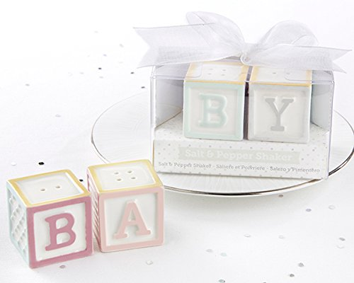 40 Baby Blocks Salt and Pepper Shakers