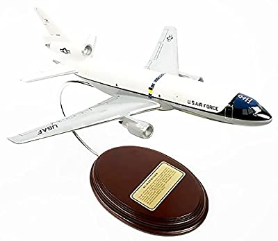 Mastercraft Collection McDonnell Douglas KC-10 Extender White Aerial Refueling Tanker Aircraft USAF Air Force Airplane Plane Model Scale:1/177