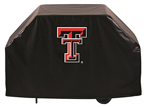 Texas Tech Red Raiders HBS Black Outdoor Heavy Duty Vinyl BBQ Grill Cover (60