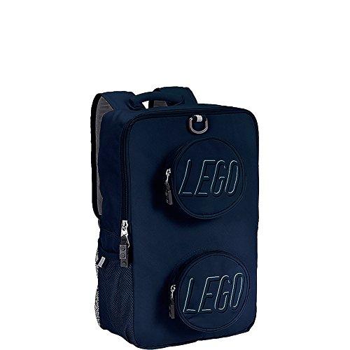 LEGO Kids' Brick Backpack, Navy, One Size