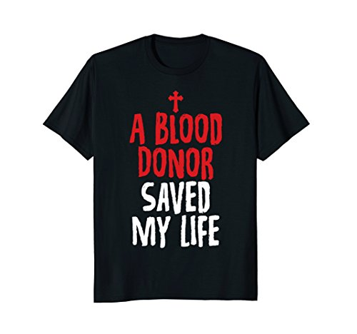 Mens A Blood Donor Saved My Life Jesus Christ Christian T-Shirts 3XL (Christian T-shirt Jesus Died)