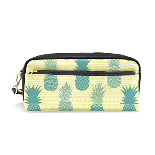 Pencil Case Pouch Storage Summer Pineapples Stationery Cosmetic