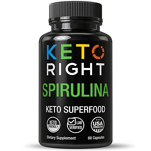Tablets. Ecologically Grown in California. Lab Tested Algae Superfood Pills. Non GMO Verified, Non Irradiated, Natural Ketosis Supplement for Men and Women. 60 Capsules ()