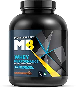 Amazon.com: MuscleBlaze Whey Performance (70%) Proteínas, 4 ...